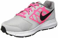 Nike Youth Girl's Downshifter 6 (GS) Athletic Shoe Grey Black Pink White 5.5Y