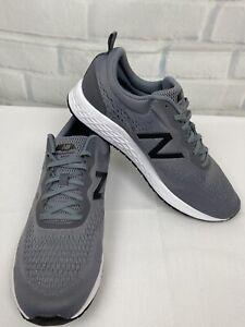 NWT New Balance Men's  Fresh Foam Arishi MARISLG3 Gray Running Shoes Size 13  4E