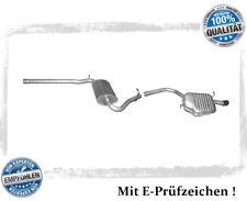 Auspuffanlage Audi A4 ( B6, B7 ) 1.6 Stufenheck, Avant Auspuff Chrom