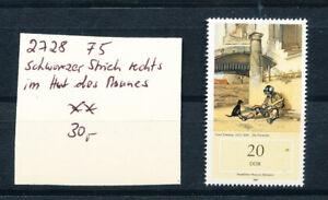 DDR Nr. 2728 F5   (nach Schrage  ) , ** postfrisch  (6564)