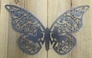 Butterfly Metal Sign Wall Art CNC Sign Decor Metal Plague Interior Design