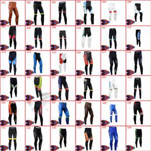 2021 Cycling Long Pants Mens Road Racing Trousers 9D Gel Pad MTB Bike Long Pants