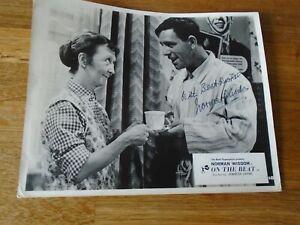 Norman Wisdom Genuine Signed Authentic Autograph - UACC / AFTAL.