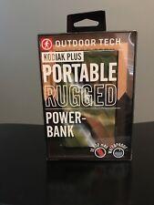Outdoor Tech Kodiak Plus Portable Power Bank CAMO 10,000 MAH **FREE SHIPPING**