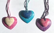 Heart Stone Costume Necklaces & Pendants