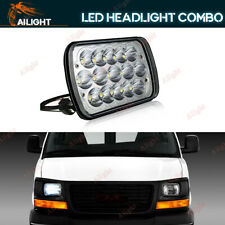 7x6'' LED Headlight 90W Sealed Replacement Hi/Low For GMC Savana 1500 2500 3500