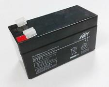 12V 1.2AH Battery Rechargeable 12 Volt - 1.2 AH [Lead Acid]