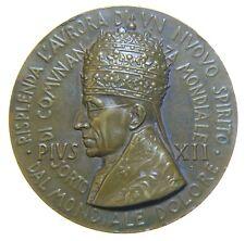 [NC] MEDAGLIA PIO XII 1946 LA PIETA' MICHELANGELO RICORDO FINE WWII (nc2761)