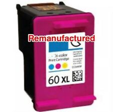 1x Rem HP60XL(CC644WA) Colour ink cartridge for HPD2560,D5560, F2400,F4200,F4400