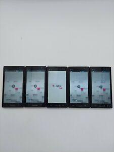 Lot of 5 LG Optimus L9 P769 T-Mobile 4GB Black *Check IMEI*
