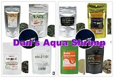 Japan Benibachi Ebita Breed Srirakura Ebikuma Shrimp Food Sample Combo Package