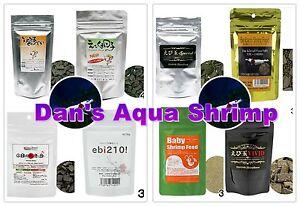 Japan Benibachi Ebita Breed Srirakura Ebikuma Shrimp Food Sample Combo Package