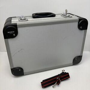 Sony LCH-VAC Hard Professional Carrying Case w/ Foam Strap + Key VX 1000 2000