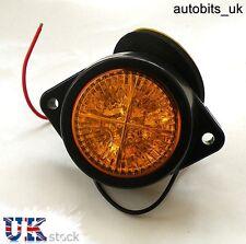1 x 12v AMBER ORANGE LED SIDE MARKER LIGHT INDICATOR LAMP VAN BYS TRALER 4X4 SUV