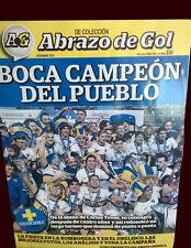 BOCA JUNIORS CHAMPION 2015 TEVEZ - Abrazo de Gol Magazine