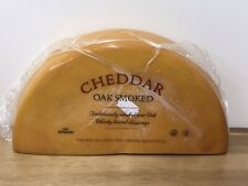 Oak Smoked Cheddar Cheese 2kg Vegetarian , Not Black Bomber Cheese