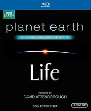Life / Planet Earth: Special Edition (Both Narrated by David Attenborough) [Blu-