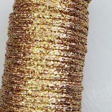 Kreinik Metallic Heavy Braid 221 Antique Gold #32 One (1) 11 yard Spool