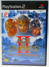 Age of Empires II The Age of Kings completamente OVP Sony PlayStation 2 ps2 usado