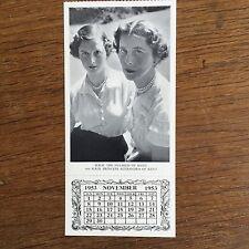 Souvenir Daily Graphic Royal Family Postcard 1953 Nov Duchess Kent & Alexandra
