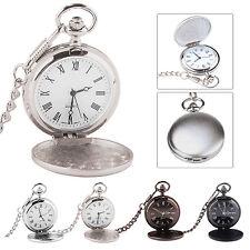 High Quality Men Quartz Pocket Watch On Chain UK Seller Antique Style
