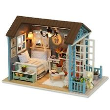 Doll House Miniature Wooden Model Building Kits Cottage Furniture Toy Decoration