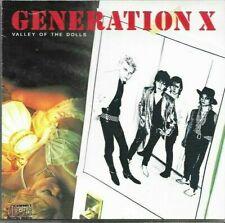 Generation X - Valley Of The Dolls Original Cd Issue - Vk 41193 - Billy Idol