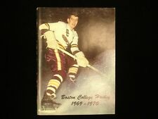 1969-70 Boston College Hockey Media Guide