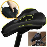 Wide Bicycle Seat Saddle Comfort Mountain Road Bike Cycling Pad Cushion