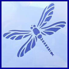 Flexible Stencil *DRAGONFLY* Insect Pond Painting Craft 10cm x 10cm