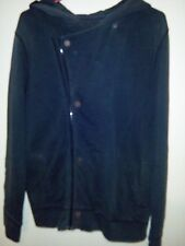 Industrie Men's Heavy Faded Black Jacket. 100% Cotton. Size - Small.