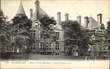 Hampstead. Mount Vernon Hospital # 714 by LL / Levy. Black & White.
