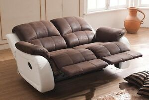 Relax Sofa Couch Fernsehsessel Relaxsessel Fernsehsofa 5129-2-PU sofort