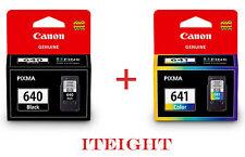 2pcs Genuine Canon PG-640 PG640 CL-641 CL641 MX376 MX396 MX436 MX456 MX516 MX526