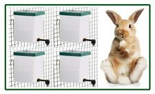 4 x 500ml Nipple Drinker - Rabbit Drinker - with Brackets