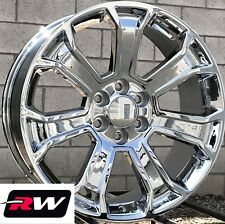 "22"" inch 22 x9"" Wheels for Chevy Avalanche Chrome Rims 5665"