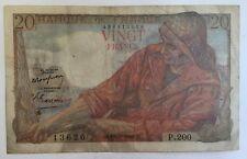 Billet De Banque 20 Francs Pêcheur  De 10-3-1949 P.200 Voir Photos