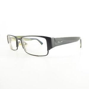 Police V8681 Full Rim T2447 Used Eyeglasses Frames - Eyewear