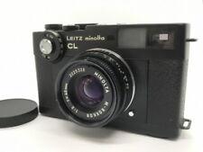 [NEAR MINT] Leitz Minolta CL 35mm Rangefinder w/M Rokkor 40mm F2 from Japan #472