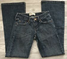 Junior's Levi Strauss Signature Low Slim Flare Stretch Stretch Jeans Size 1 Med