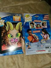 Crayola Zany Zoo Funny faces 250 virtual Masks toy 22 interactive coloring pages