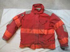 Lion Janesville 42 X 29r Firefighter Turnout Bunker Gear Jacket Coat Rescue Tow