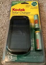 New Kodak KS100C USB Solar Charger and 2x 2100mAH AA Rechargeable Ni-Mh battery