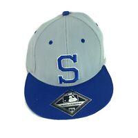 Seattle Mariners Blue MLB Elite Series Elastic Hat Cap Size Medium/large MLB NEW