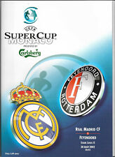 2002 UEFA Super Cup Final - REAL MADRID v. FEYENOORD