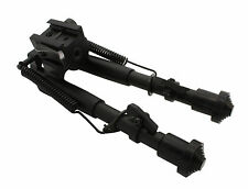 Tactical Rifle Bipod QD Spring Lock 7.5 to 9.5 Adjustable Picatinny Rail Mount