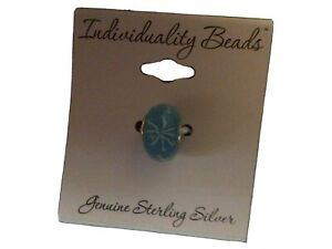 Individuality beads. Turquoise Bead. Genuine Sterling Silver. New with tags.