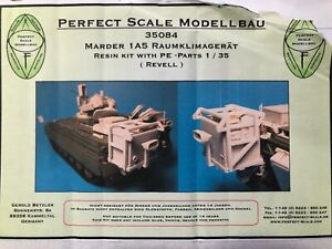 Perfect Scale 1/35 Marder 1A5 Raumklimagerat Resin Photo Etch PE Model Kit