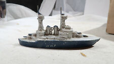 French Slush Metal Navy Battleship Destroyer Lead Metal