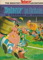 Asterix in Brittain - Hodder Dargaud - Classic 70's Copy 1979